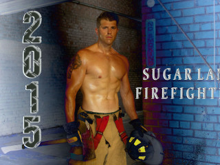 Sugar Land 2015 Firefighter Calendar Signing Event
