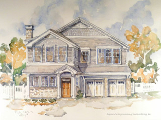 "Stone Acorn Builders' Southern Living ""Home for the Holidays"" Showcase Home"