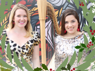 "47 Strings presents ""Welcome to Christmas: A Festive Concert of Harp and Voice Duets to Usher in the Holiday Season"""