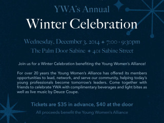 Young Women's Alliance Winter Celebration - 2014