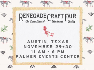 Renegade Craft Fair - November 2014