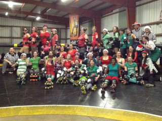 Texas Roller Derby Season's Beatings Holiday Bout