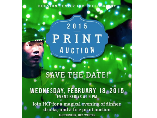 Houston Center for Photography's 2015 Benefit Print Auction