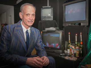 News_John Waters_party_March 2012_John Waters
