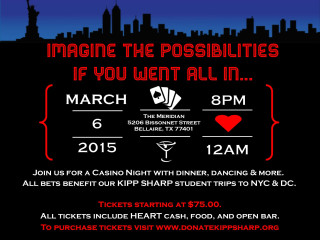 KIPP SHARP Imagine Casino Night