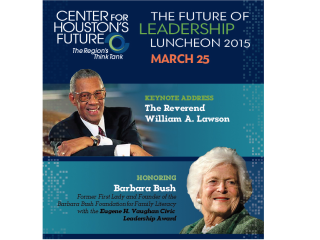 "Center for Houston's Future ""Future of Leadership"" Luncheon 2015"