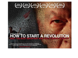 Film screening: How to Start a Revolution