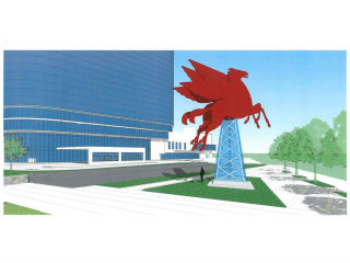 Rendering of new Pegasus at Omni Dallas