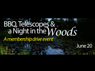 Houston Arboretum & Nature Center Presents BBQ, Telescopes & a Night in the Woods