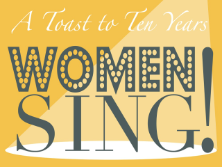 The City Theatre Company Women Sing poster CROPPED 2015