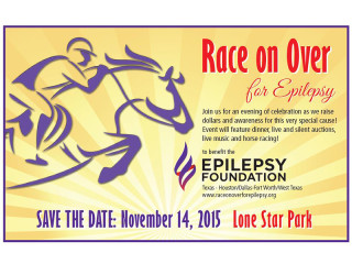 Race On Over for Epilepsy