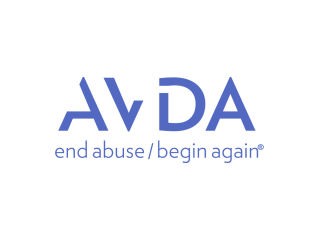 Aid to Victims of Domestic Abuse (AVDA) logo