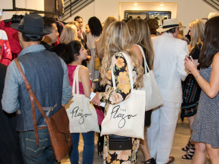 Guests mingling Dallas Stylemaker 2016 Reveal Party