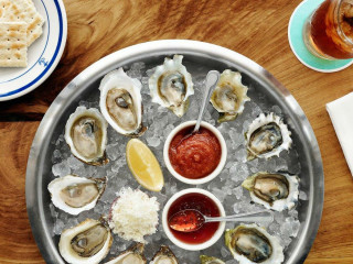 Clark's Oyster Bar seafood Clarksville Austin restaurant