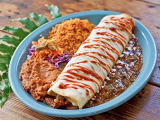 Hula Hut Tubular Taco Plate