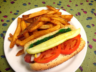 Z's Cafe Chicago dog