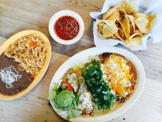 Enchiladas Ole sampler plate