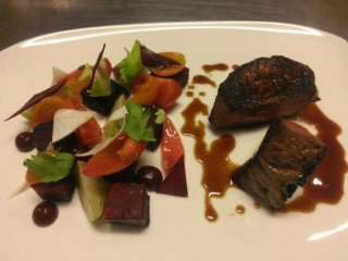 Saveurs 209 beef tenderloin, dish San Antonio restaurant