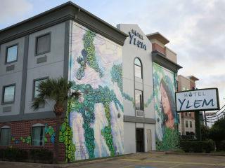 Janavi M. Folmsbee mural at Hotel Ylem