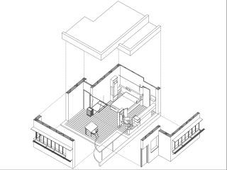 "UT Austin School of Architecture presents ""E.1027 Master Bedroom"""