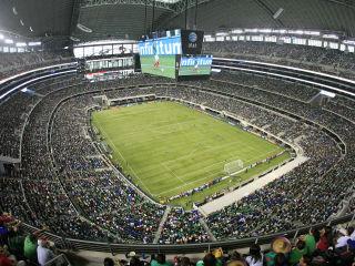 Gold Cup soccer at AT&T Stadium