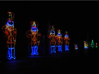 Speedway Christmas Lights.Texas Motor Speedway Presents Gift Of Lights Event