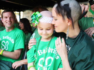 St. Baldrick's Fundraiser: Head Shaving Event