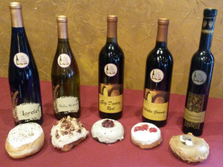 Wine and Donut Pairing