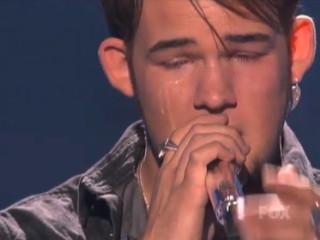 News_American Idol_James Durbin_crying