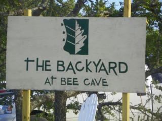 Austin Photo: Places_Live Music_Backyard_Sign