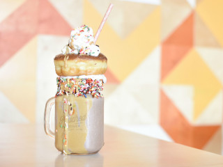 The Peached Tortilla's Chocolate Horchata Mega-Shake