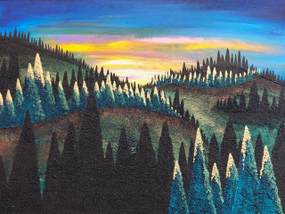 """Enchanted Forests"" by Blake Shanley opening reception"