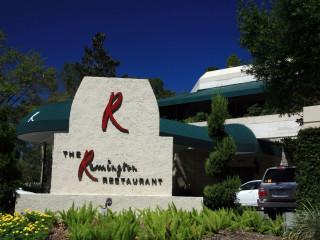 Places-Eat-The Remington Restaurant-exterior-sign-1