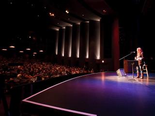 News_Douglas Newman_Patti Smith_crowd_Cullen Performance Hall