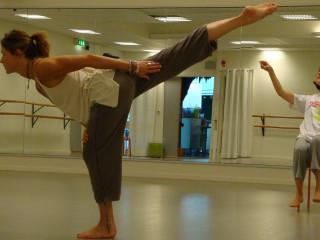 News_Nancy Wozny_dance vacations_Teresa Chapman_Karen Stokes_rehearsal_Karlstad_for Abundance 2010