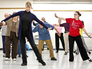 News_Nancy Wozny_potent partnerships_Houston Ballet's_Kristine Richmond_HAPS's_Kathleen Crist lead_Dance for Parkinson's class