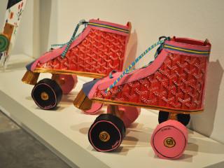 News_Libby Black_art_roller skates