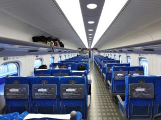 News_bullet train_Shinkansen Series N700_interior