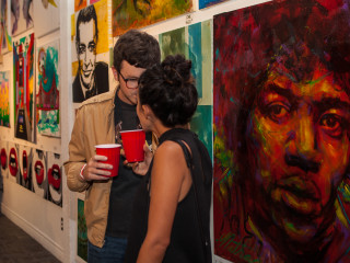 Chocolate And Art Show: Austin Edition