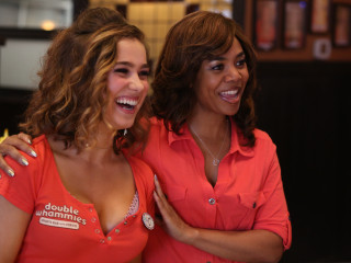 Haley Lu Richardson and Regina Hall in Support The Girls