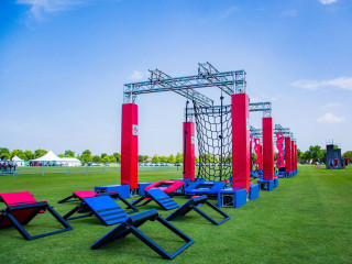 Topgolf presents Ninja Nation Obstacle Course