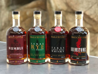 Balcones Back-to-School Whisky Flight