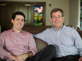 Rev. Arthur Jones and Bishop Scott Jones