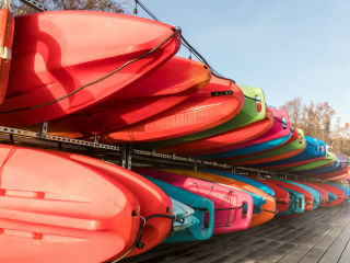 Rowing Dock on Lady Bird Lake