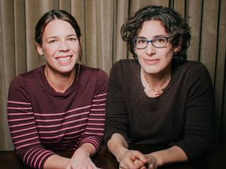 Julie Snyder and Sarah Koenig from Serial