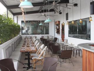 Maverick Texas Brasserie San Antonio patio