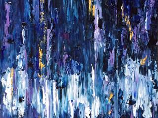 Giddens Gallery of Fine Art in Grapevine presents Rosemary Riddle-Achelpohl: Indigo