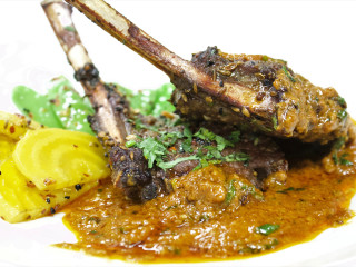 Verandah Progressive Indian Restaurant lamb chop