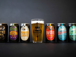 Independence Brewing Company cans