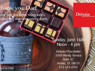 Chocolate and Whiskey for Dad